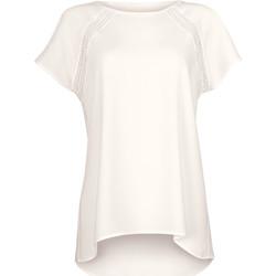 Vêtements Femme Tops / Blouses Lisca T-shirt manches courtes Timeless Cheek by Ivoire