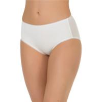 Sous-vêtements Femme Culottes & slips Selmark Slip taille haute Etna Ivoire