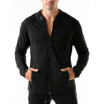 Vêtements Homme Sweats Code 22 Veste de sport Urban Camo Code22 Noir