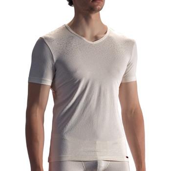 Vêtements Homme T-shirts manches courtes Olaf Benz T-shirt PEARL1858 Ivoire