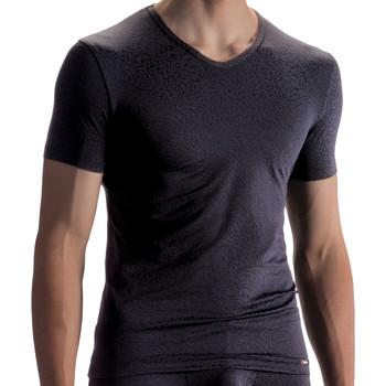 Vêtements Homme T-shirts manches courtes Olaf Benz T-shirt PEARL1858 Noir
