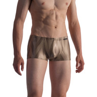 Sous-vêtements Homme Boxers Olaf Benz Shorty de bain BLU1850 Marron