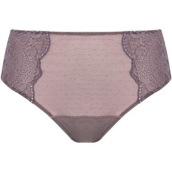 Sous-vêtements Femme Culottes & slips Selmark Slip taille haute Lorena Taupe