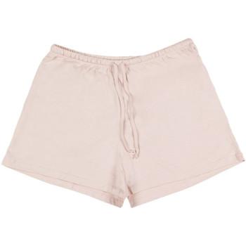 Vêtements Femme Pyjamas / Chemises de nuit Admas Tenue d'intérieur pyjama short débardeur Today Outfit corail Corail