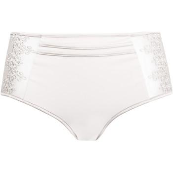 Sous-vêtements Femme Culottes & slips Luna Culotte haute Baroc  Splendida Ivoire