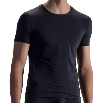 Vêtements Homme T-shirts manches courtes Olaf Benz Tee-shirt RED1868 Noir