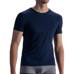 Vêtements Homme T-shirts manches courtes Olaf Benz Tee-shirt RED1862 Night Bleu
