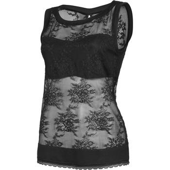 Vêtements Femme Tops / Blouses Lisca Débardeur Eternity noir Noir