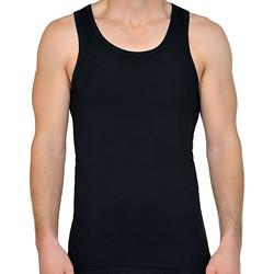 Vêtements Homme Débardeurs / T-shirts sans manche Lisca Débardeur Apolon  Men Noir