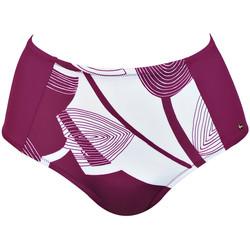 Vêtements Femme Maillots de bain séparables Lisca Bas maillot de bain taille haute Karpathos Bordeaux