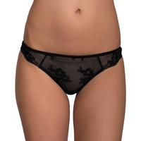 Sous-vêtements Femme Tangas Luna Brésilien dentelle Honeymoon Noir