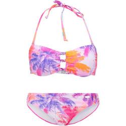 Vêtements Femme Maillots de bain 2 pièces Lascana Ensemble 2 pièces bikini bandeau Bench Unique