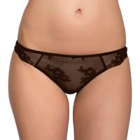 Sous-vêtements Femme Strings Luna Brésilien dentelle Honeymoon Chocolat
