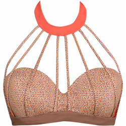 Vêtements Femme Maillots de bain séparables Luna Haut maillot de bain bandeau Pixel Orange