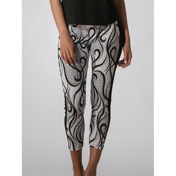 Vêtements Femme Pantacourts Luna Pantalon de plage Elixir Noir