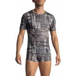Vêtements Homme T-shirts manches courtes Olaf Benz T-Shirt manches courtes RED 1772 Gris