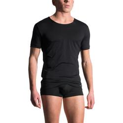 Vêtements Homme T-shirts & Polos Manstore T-shirt manches courtes M103 Noir