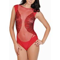 Sous-vêtements Femme Bodys Lisca Body Queen Rose  Selection Rouge