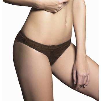 Sous-vêtements Femme Tangas Luna Brésilien Honeymoon Chocolat