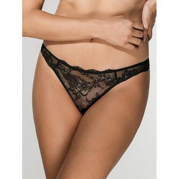 Sous-vêtements Femme Tangas Luna Brésilien noir Honeymoon  Splendida Noir