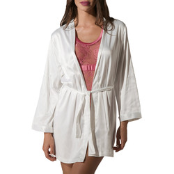 Vêtements Femme Pyjamas / Chemises de nuit Luna Kimono Prestige de Ivoire