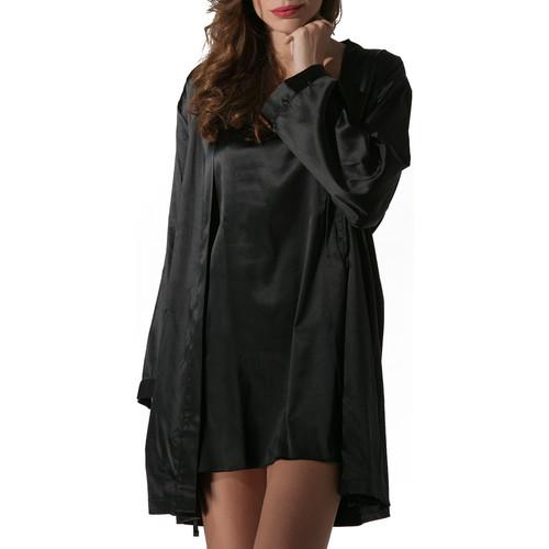 Vêtements Femme Pyjamas / Chemises de nuit Luna Kimono Prestige de Noir