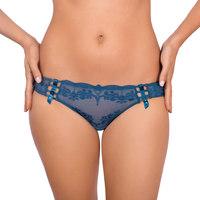 Sous-vêtements Femme Slips Luna Slip échancré Gothic Bleu