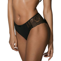 Sous-vêtements Femme Tangas Luna Shorty Midnight Noir