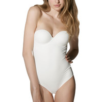 Sous-vêtements Femme Bodys Luna Body Secret Sense de Ivoire
