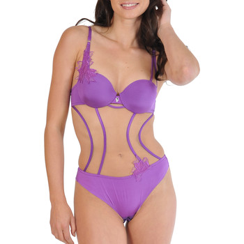 Sous-vêtements Femme Bodys Lisca Body string Divine Violet