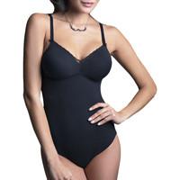 Sous-vêtements Femme Bodys Lisca Body Coton Anja sans armature Noir