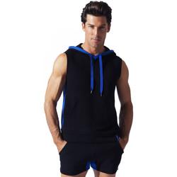Vêtements Homme Débardeurs / T-shirts sans manche Code 22 Sweet Hoody sans manche Sport Code22 Noir