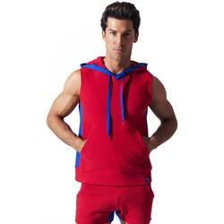 Vêtements Homme Débardeurs / T-shirts sans manche Code 22 Sweet Hoody sans manche Sport Code22 Rouge