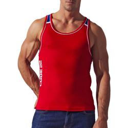 Vêtements Homme Débardeurs / T-shirts sans manche Code 22 Débardeur Razor Back Sport Rouge