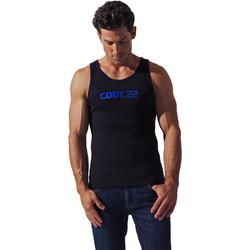 Vêtements Homme Débardeurs / T-shirts sans manche Code 22 Débardeur Basic Code22 Noir