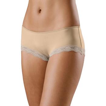 Sous-vêtements Femme Nouveautés de cette semaine Lascana Shorty microfibre Perfect Basic Peau