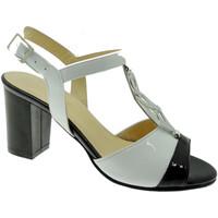 Chaussures Femme Sandales et Nu-pieds Soffice Sogno SOSO8133bi bianco