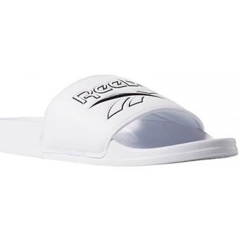 Chaussures Claquettes Reebok Sport CLASSIC SLIDE / BLANC Blanc
