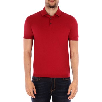Vêtements Homme Polos manches courtes Gran Sasso 57119 polo homme Rouge Rouge