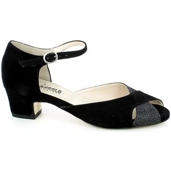 Chaussures Femme Sandales et Nu-pieds L'angolo 122.01_36 Noir
