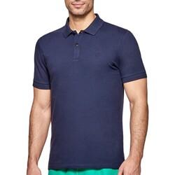 Vêtements Homme Polos manches courtes Impetus Polo coton homme manches courtes Livorno bleu foncé Bleu