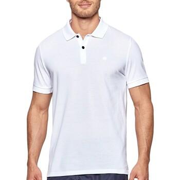 Vêtements Homme Polos manches courtes Impetus Livorno Blanc