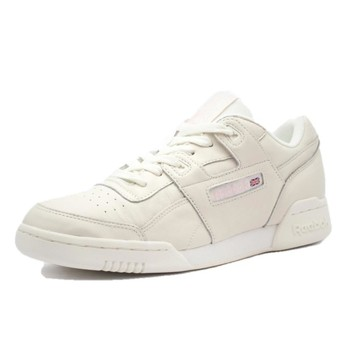 Chaussures Femme Baskets basses Reebok Sport Workout Lo Plus Beige