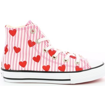 Chaussures Fille Baskets montantes Converse Ctas Hi Ev ROSE