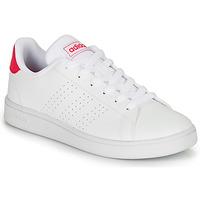 Chaussures Fille Baskets basses adidas Originals ADVANTAGE K JU Blanc