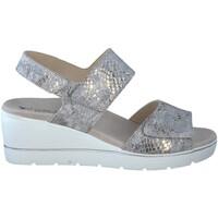 Chaussures Femme Sandales et Nu-pieds Mephisto Sandale cuir ENGELINA Gris