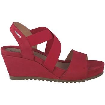 Chaussures Femme Sandales et Nu-pieds Mephisto Sandale velours GIULIANA Rouge