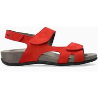 Chaussures Femme Sandales et Nu-pieds Mephisto Sandale cuir lisse JULIET Rouge
