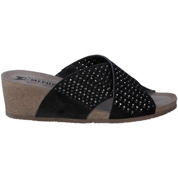Chaussures Femme Mules Mephisto Mule MELODIE SPARK noires Noir