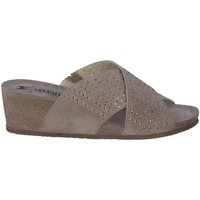 Chaussures Femme Mules Mephisto Sandales cuir MELODIESPARK Beige
